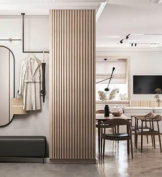 Продуманный до мелочей дизайн-проект квартиры