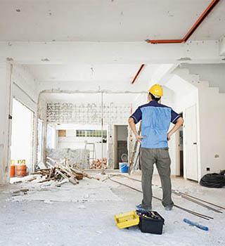 Ремонт домов, коттеджей, таунхаусов <span>c гарантией 5 лет</span>