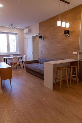 Двухкомнатная квартира 72 м2