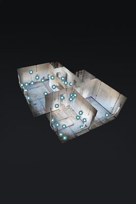 3D-тур проекта инженерных сетей Б-р Яна Райниса
